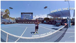 Fox Sports Tennis 360 Video