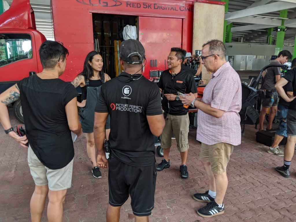 armani-ss20-production-crew video camera crew singapore