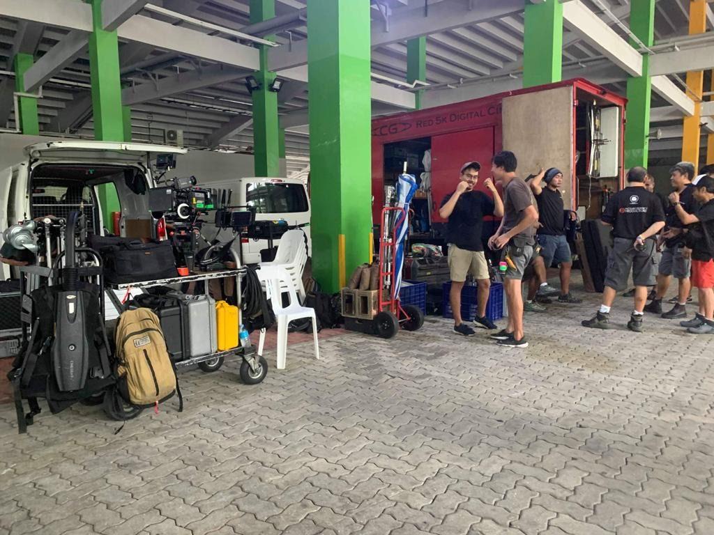 camera crew briefing