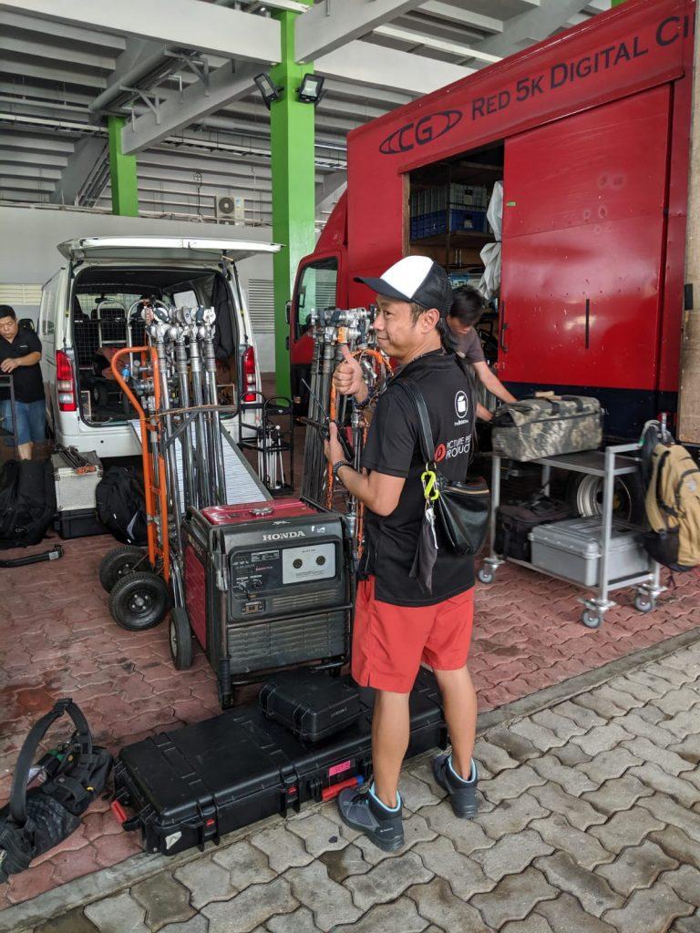 camera crew singapore